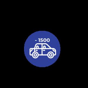 MENOS DE 1.500 C.C