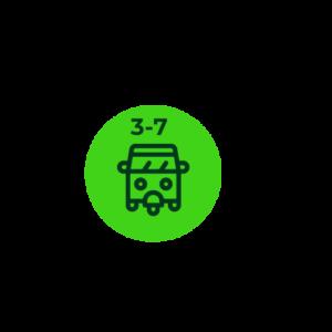 Motocarro - Ant. 3 a 7 Años