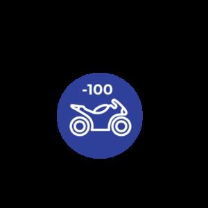 MENOS 100 C.C