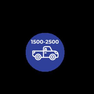 DE 1.500 A 2.500 C.C