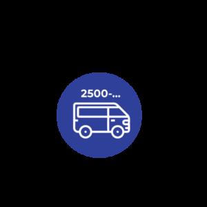 2.500 C.C Ó MÁS